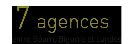 7 agences